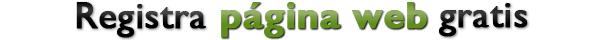Registrar página web